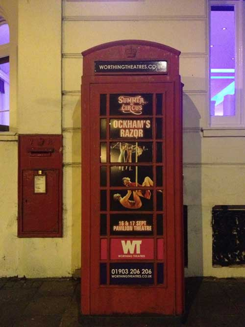 worthing phone box